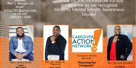 Minority Mental Health Awareness Month- It's a Family Affair! tickets