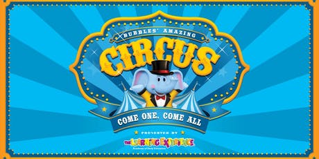 Bubbles' Amazing Circus tickets