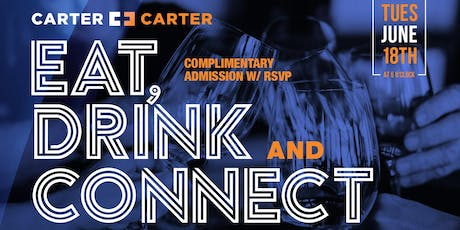 Eat, Drink, Connect Houston with The Carter Brothers - 9/10 tickets