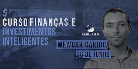 CURSO DE FINANÇAS E INVESTIMENTOS INTELIGENTES JUNHO ingressos