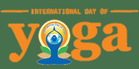 International Yoga Day 2019 tickets