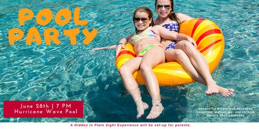Pool Party &  Float-In Movie