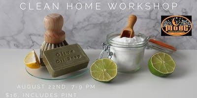 Clean Home Workshop