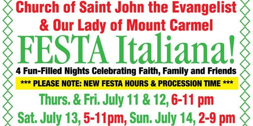 Our Lady of Mount Carmel Festa Italiana - White Plains, NY