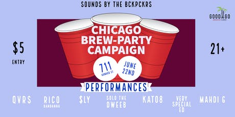 Chicago Brew-Party Campaign  tickets