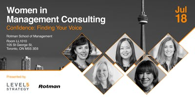 Women in Management Consulting - Confidence: Finding Your Voice