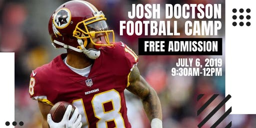 Josh Doctson Football Camp 2019