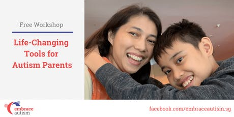 Life-Changing Tools for Autism Parents (17 Aug 2019) tickets