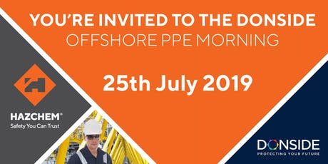 Donside Offshore PPE Innovation Morning tickets