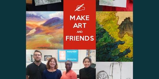 Make Art And Friends Art Classes