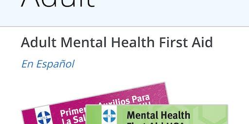 Mental Health First Aid- Ushers, Nurses, Security Ministries
