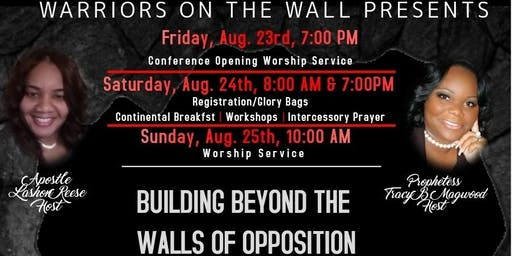 WOW EXPLOSION 2019 BUILDING BEYOND THE WALLS OF OPPOSITION