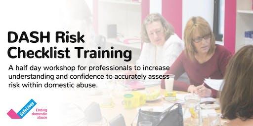 DASH Risk Checklist Training