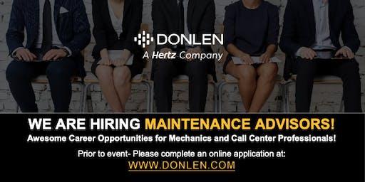 Donlen/Hertz Maintenance Hiring Event