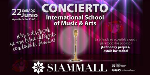Concierto School of Music&Art en Siam Mall