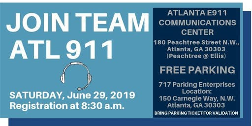 ATL 911 Communication Dispatcher Career Fair