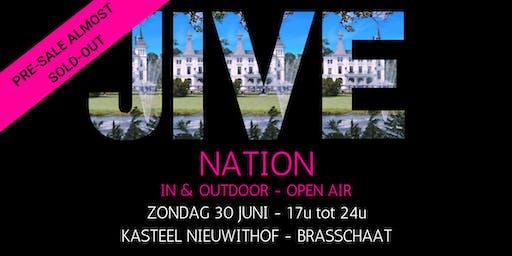 JIVE NATION - OPEN AIR | 30 JUNI | Kasteel Nieuwithof - Brasschaat