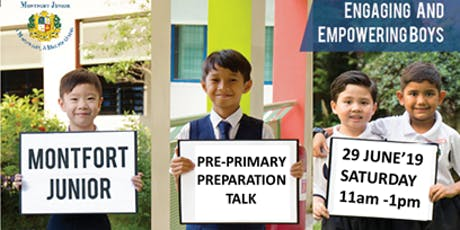 Pre-Primary One Preparation and Cultivating a Good Primary School Routine tickets