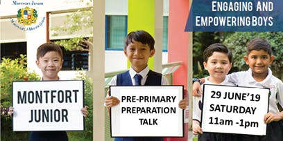 Pre-Primary One Preparation and Cultivating a Good Primary School Routine