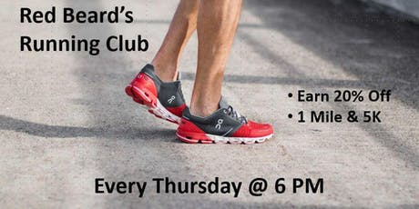 Red Beard's Run Club tickets