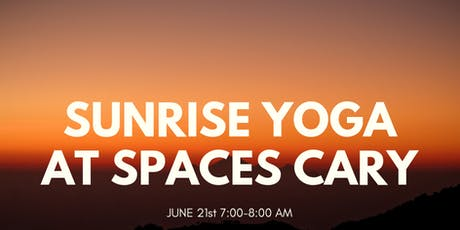 Sunrise Yoga at SPACES Cary tickets