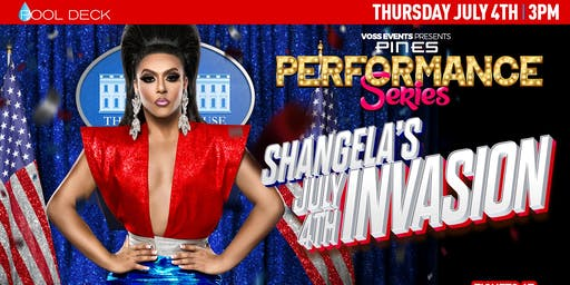 "Pines Performance Series: Shangela ""July 4th Invasion"""