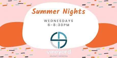 Student Summer Nights tickets