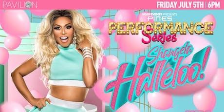 "Pines Performance Series: Shangela ""Halleloo"" tickets"
