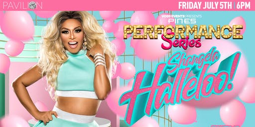 "Pines Performance Series: Shangela ""Halleloo"""