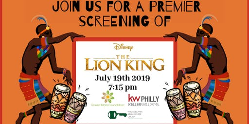 Lion King Private Screening