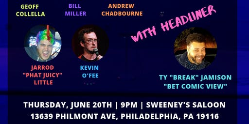BREW HAHA COMEDY @ SWEENEYS PHILLY