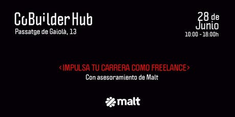 Impulsa tu carrera como freelance con Malt  entradas