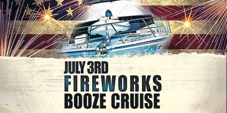 Yacht Party Chicago's July 3rd Fireworks Booze Cruise tickets