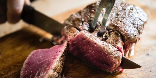 Das perfekte Steak - Die Kochshow zum Mitmachen am 20. Juni 2019 um 19 Uhr