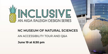 Accessibility Tour of NC Museum of Natural Sciences! tickets
