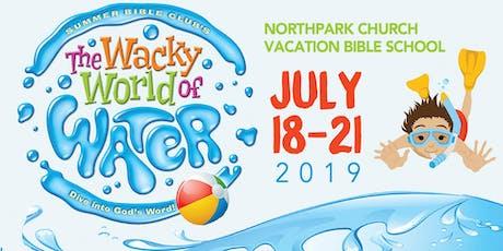 Northpark Church | VBS 2019 Registration tickets