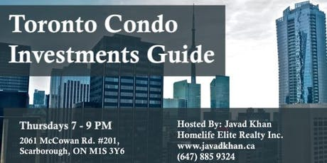 Toronto Condo Investments Guide tickets