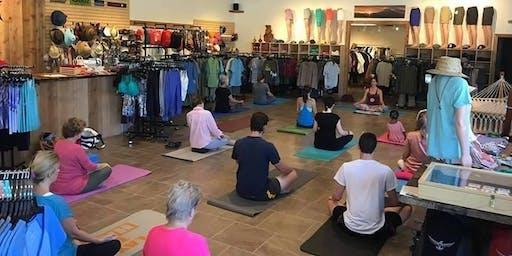 Free Yoga with Teddy Ward
