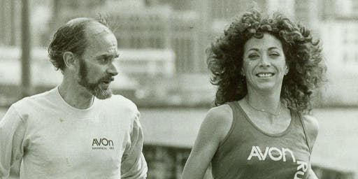 Legendary Runners Roger Robinson and Kathrine Switzer at the Boilermaker