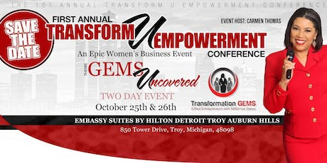Transform U: GEMS Uncovered Women's Empowerment Conference tickets