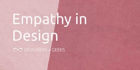 Empathy in Design tickets