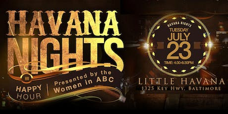 Havana Nights Happy Hour tickets