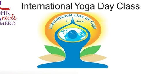 Yoga for John - A special outdoor Yoga class  in Ballykeefe Amphitheatre to celebrate International Yoga Day