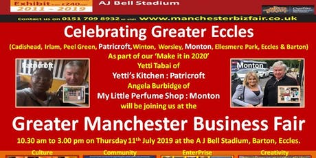 Celebrating Greater Eccles @ GMBF - Manchester tickets