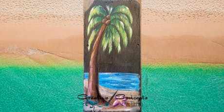 Palm Tree Slate Paint Night tickets