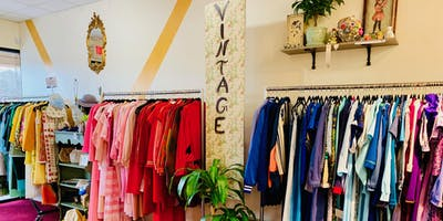 Sip and Shop at Nancy's Vintage Shop