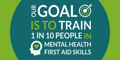 Mental Health First Aid (MHFA) ***** 2 day course