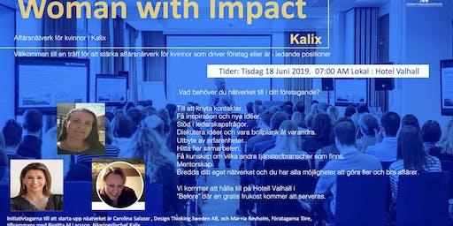 Woman with Impact Kalix