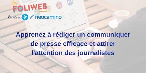 [Lille] Apprenez à rédiger un communiqué de presse efficace et attirer l'attention des journalistes