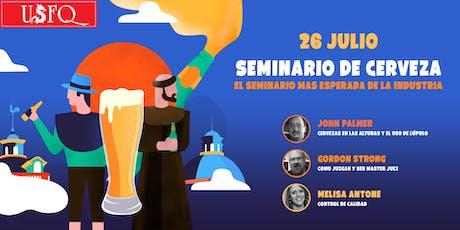 CERV2019 Seminario de Cerveza Artesanal entradas